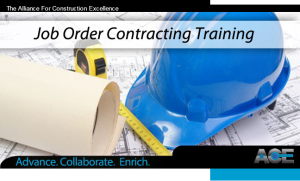 JOB ORDER CONTRACTING SOFTWARE AND TRAINING RSMEANS