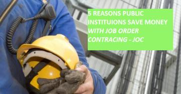 job order contractingt