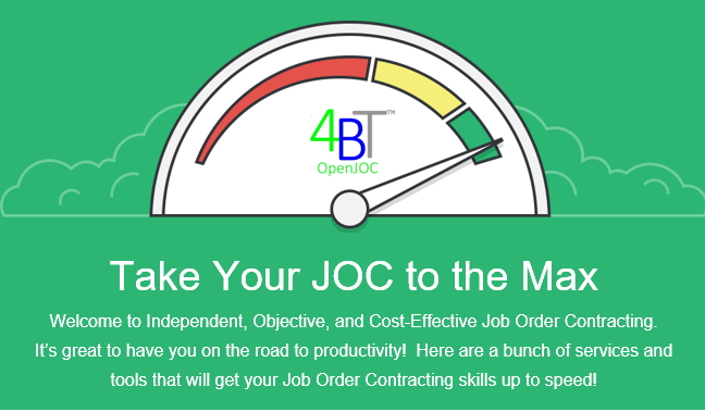 The 7 basic steps of job order contract program implementation